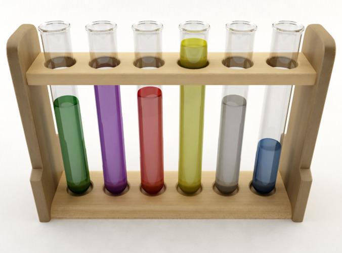 Test Tubes3D model