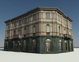 Corner building 22974 3D model