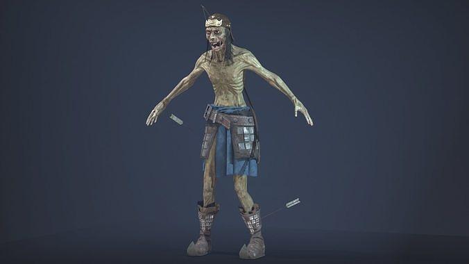 Zombie Archer Soldier