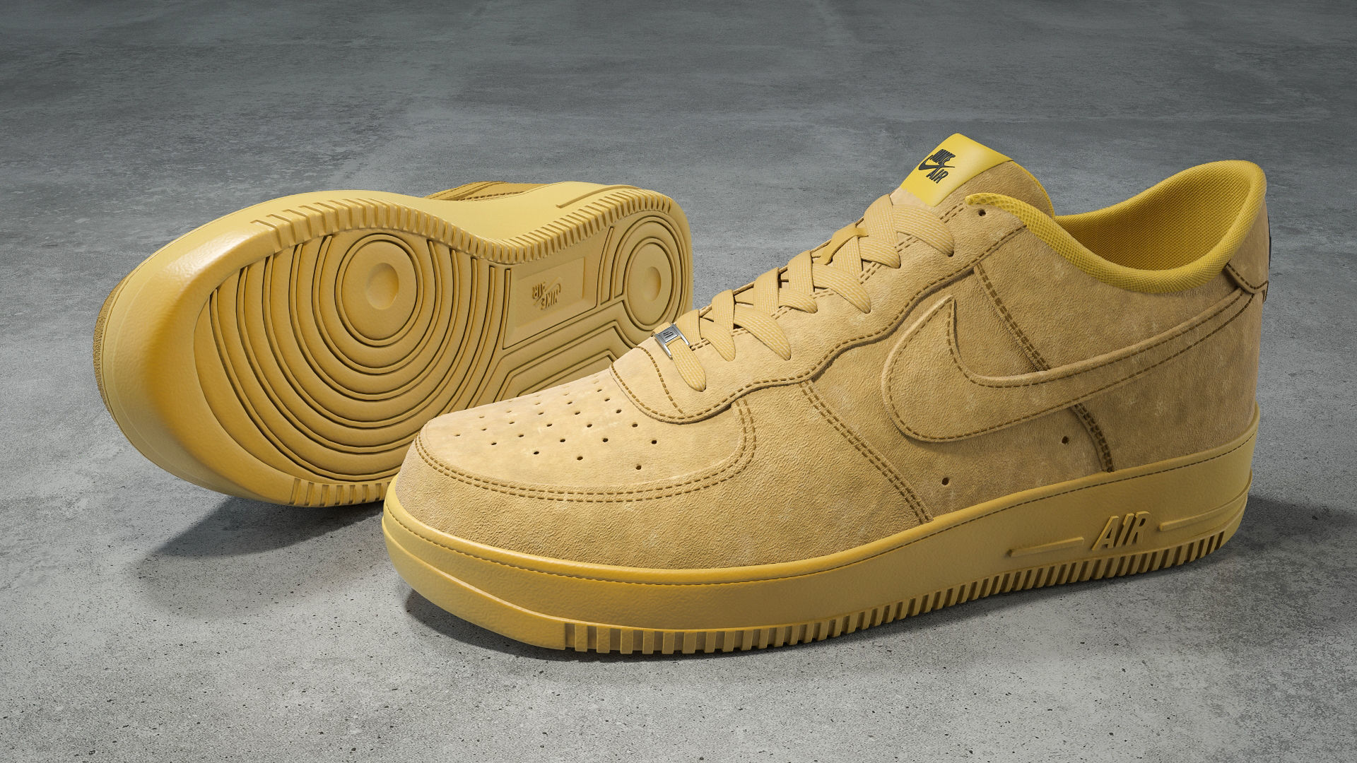 nike air force 1 low flax