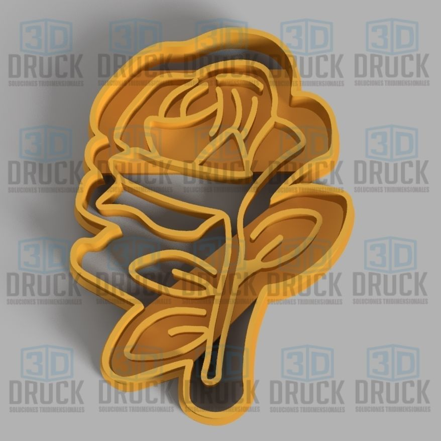The Little Prince Rose - El Principito Rosa Cookie Cutter
