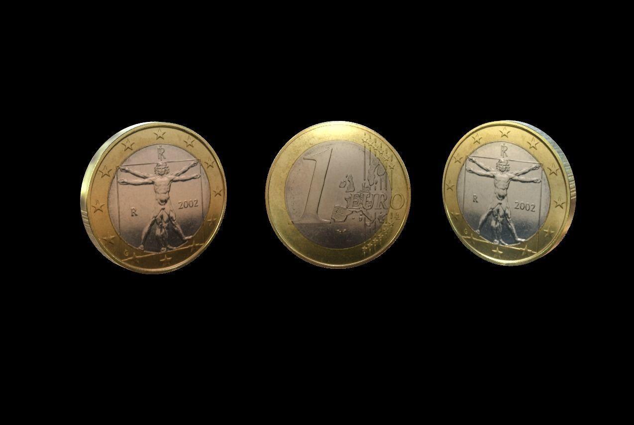 1 Euro Coin - Italy