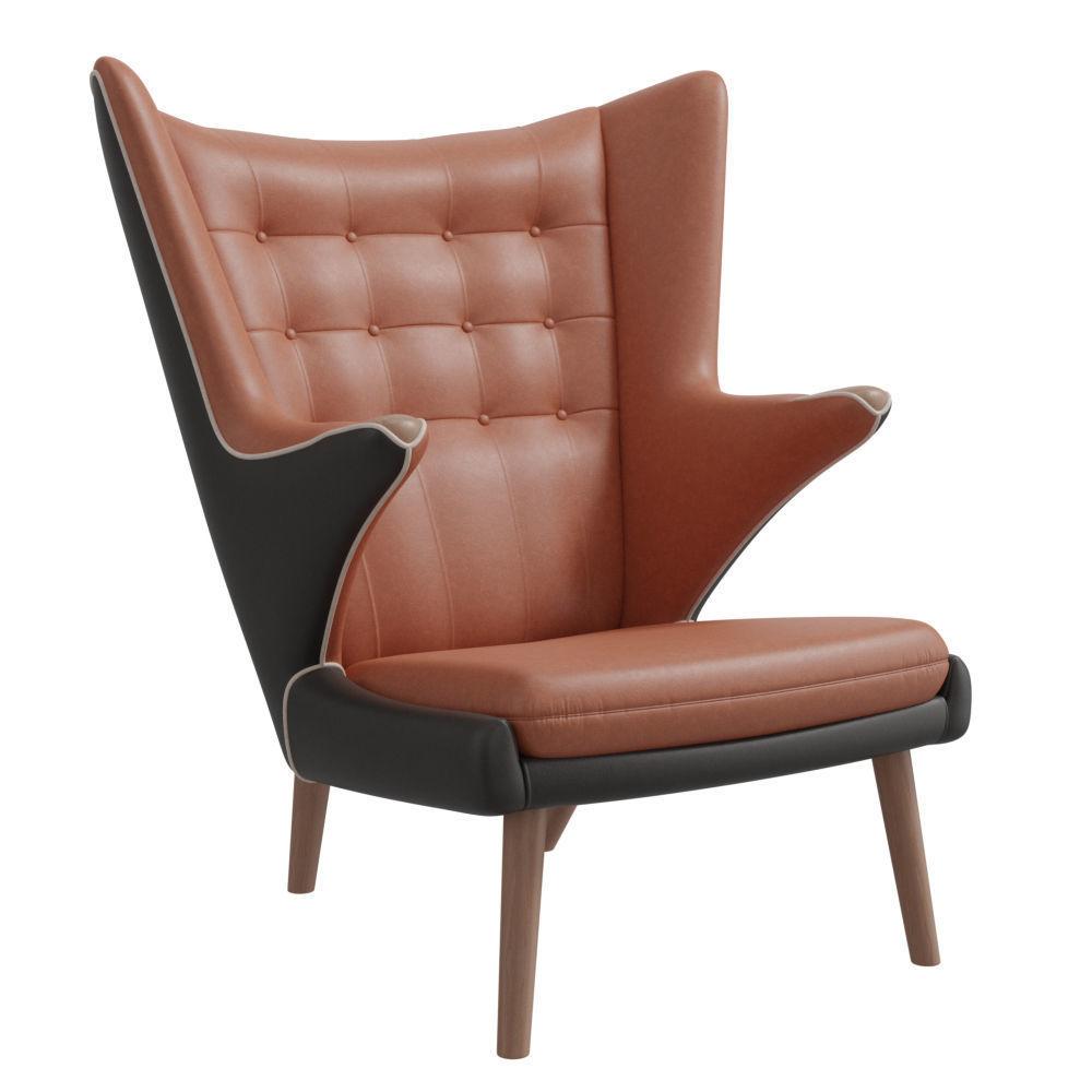 Teddy bear armchair PBR 3D | CGTrader