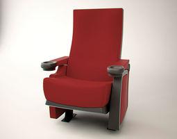 3d asset realtime cinema chair