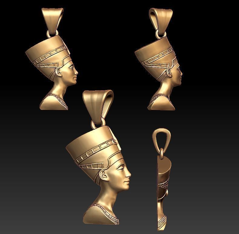 Queen Nefertiti pendant