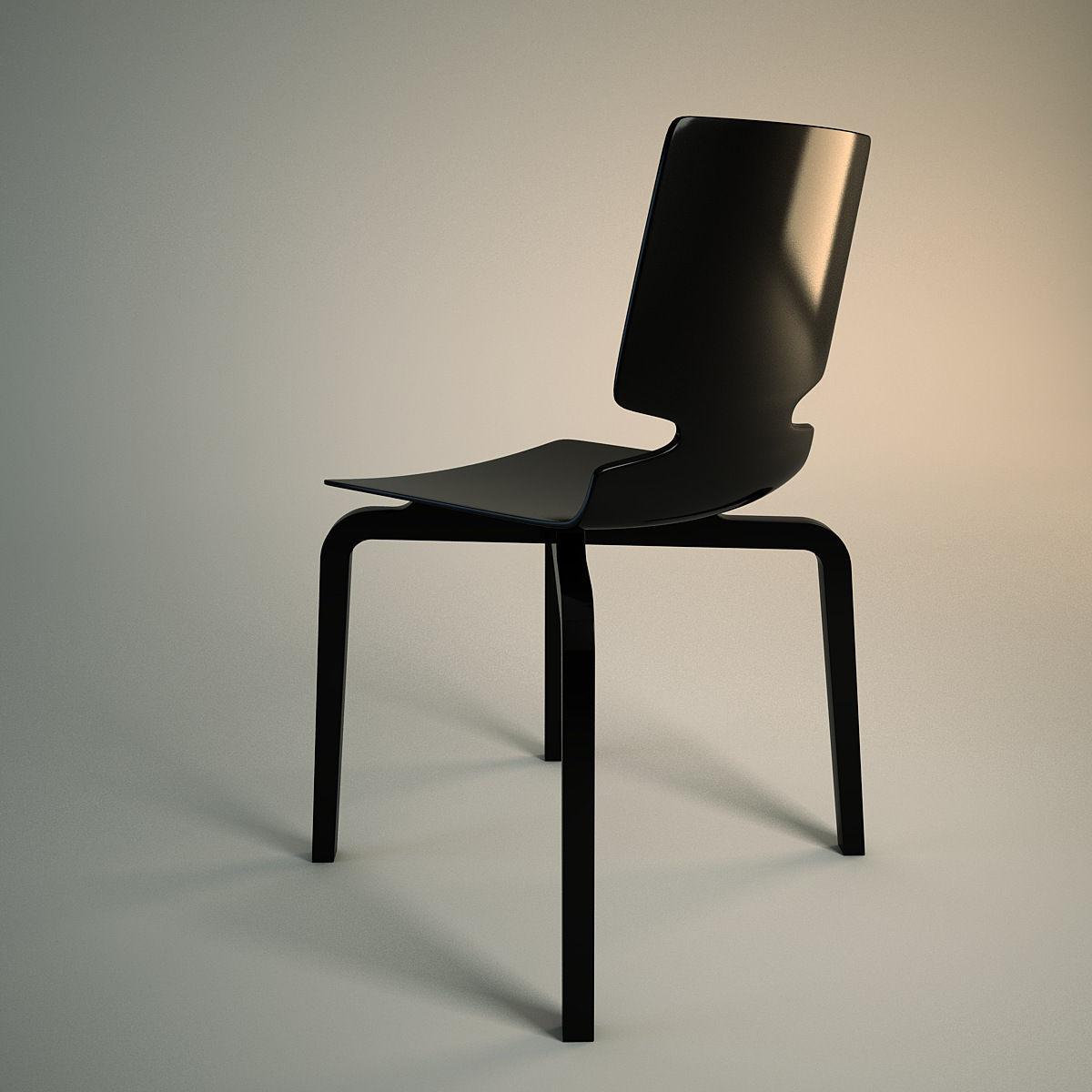 Artek Dress The Chair : Artek lento chair d model cgtrader