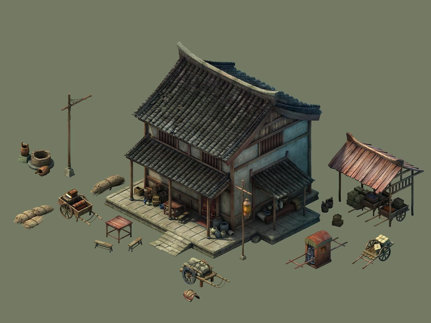 Game Model - City - Inn Hotel