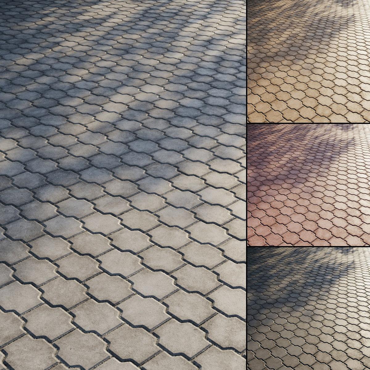 Concrete paving slabs Type 16