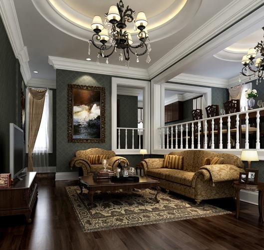 Living room 3d model table lamp cgtrader for Living models