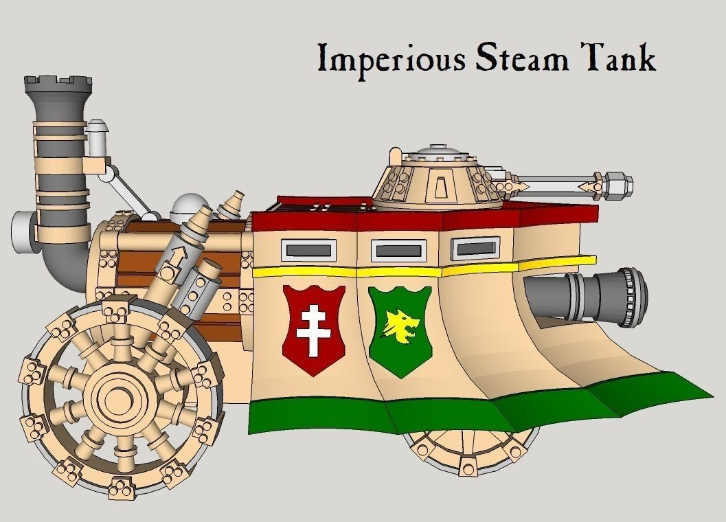10mm Imperious Steam Tank