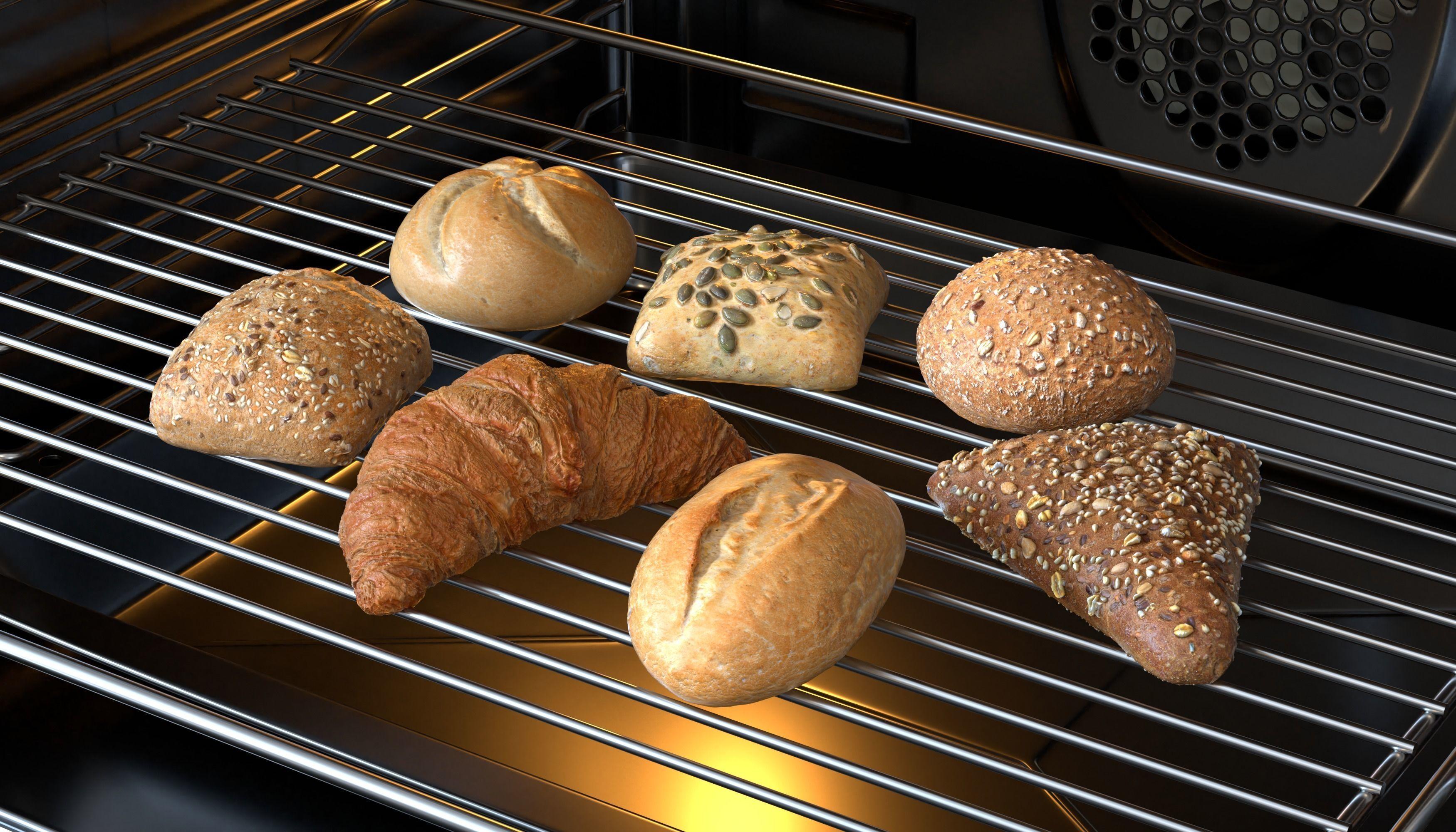 3D Bread Models Photoscan