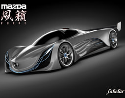 Mazda Furai 3D model