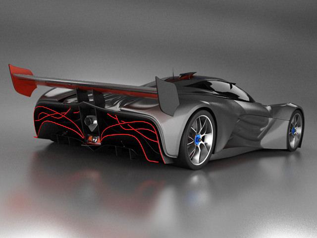 Mazda Furai Price >> Mazda Furai 3D Model .max .obj .fbx .lwo .lw .lws ...