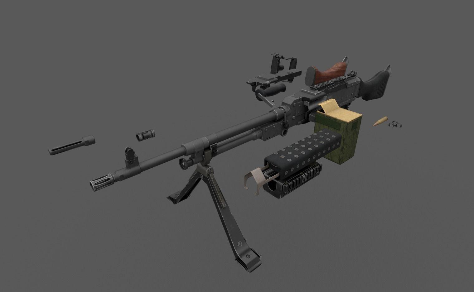 M240 FN MAG Game Ready Kit