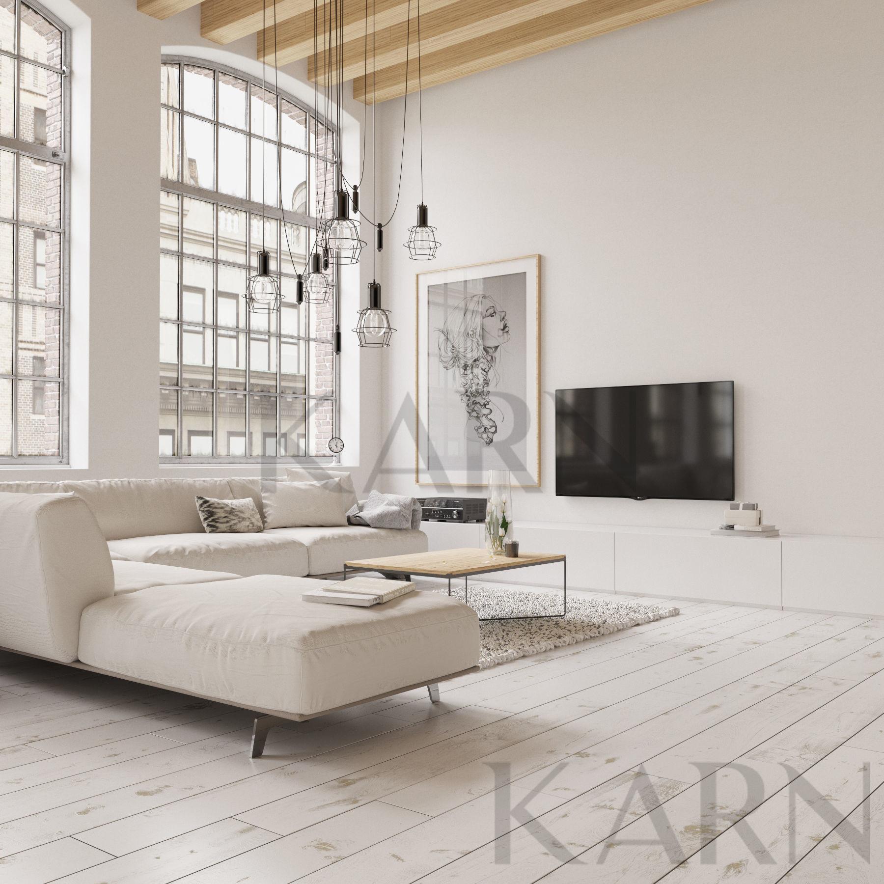 3d Luxury Living Room On A Residense Modern Style