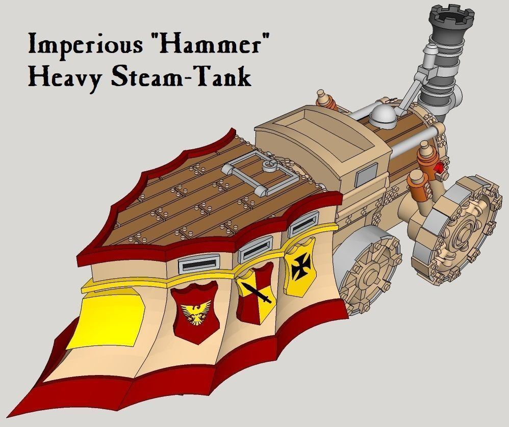 10mm Imperious Heavy Hammer Steam-Tank