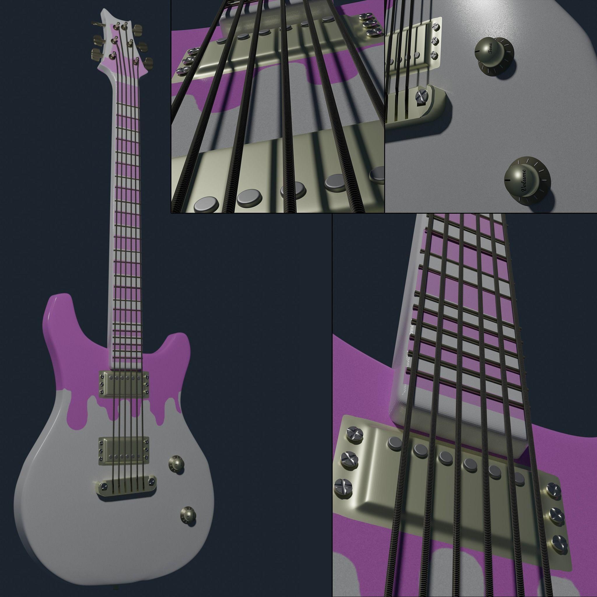 Electric Guitar mostly decorative BigEagle