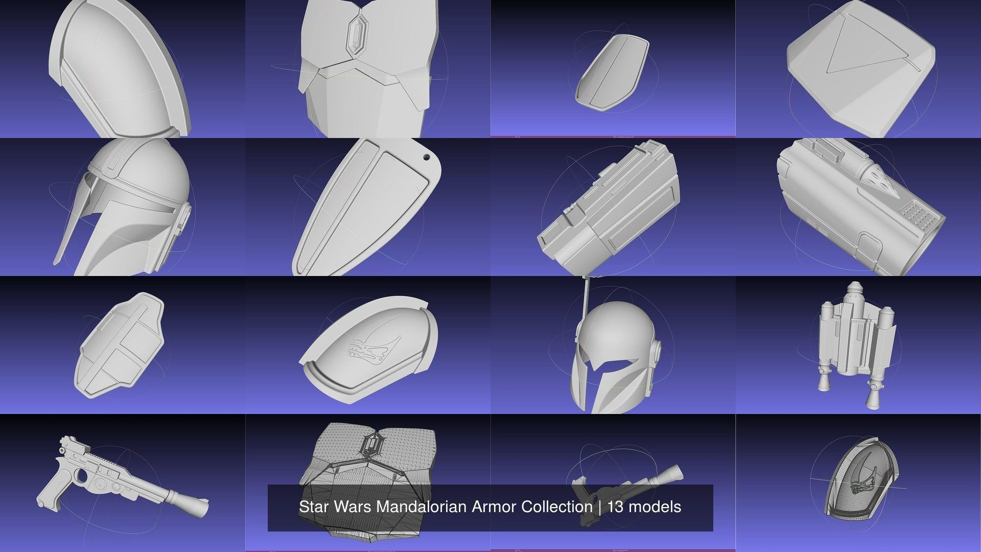 Star Wars Mandalorian Armor Collection