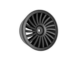 3d 1 to 10th rc car wheel spokewheel no2 width 24mm offset 0mm
