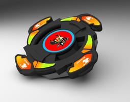 3d model realtime beyblade