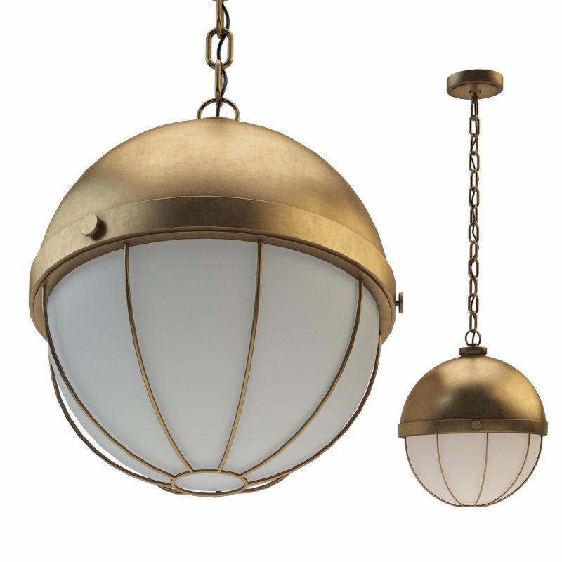 Sumner 1 Light Pendant Aged Brass