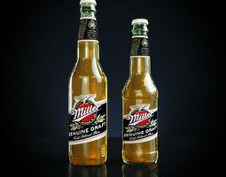 3D model Miller beer