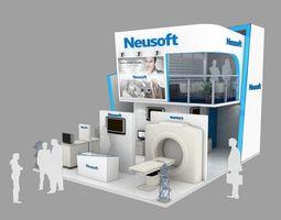 3D 8x6 Exhibition satnd