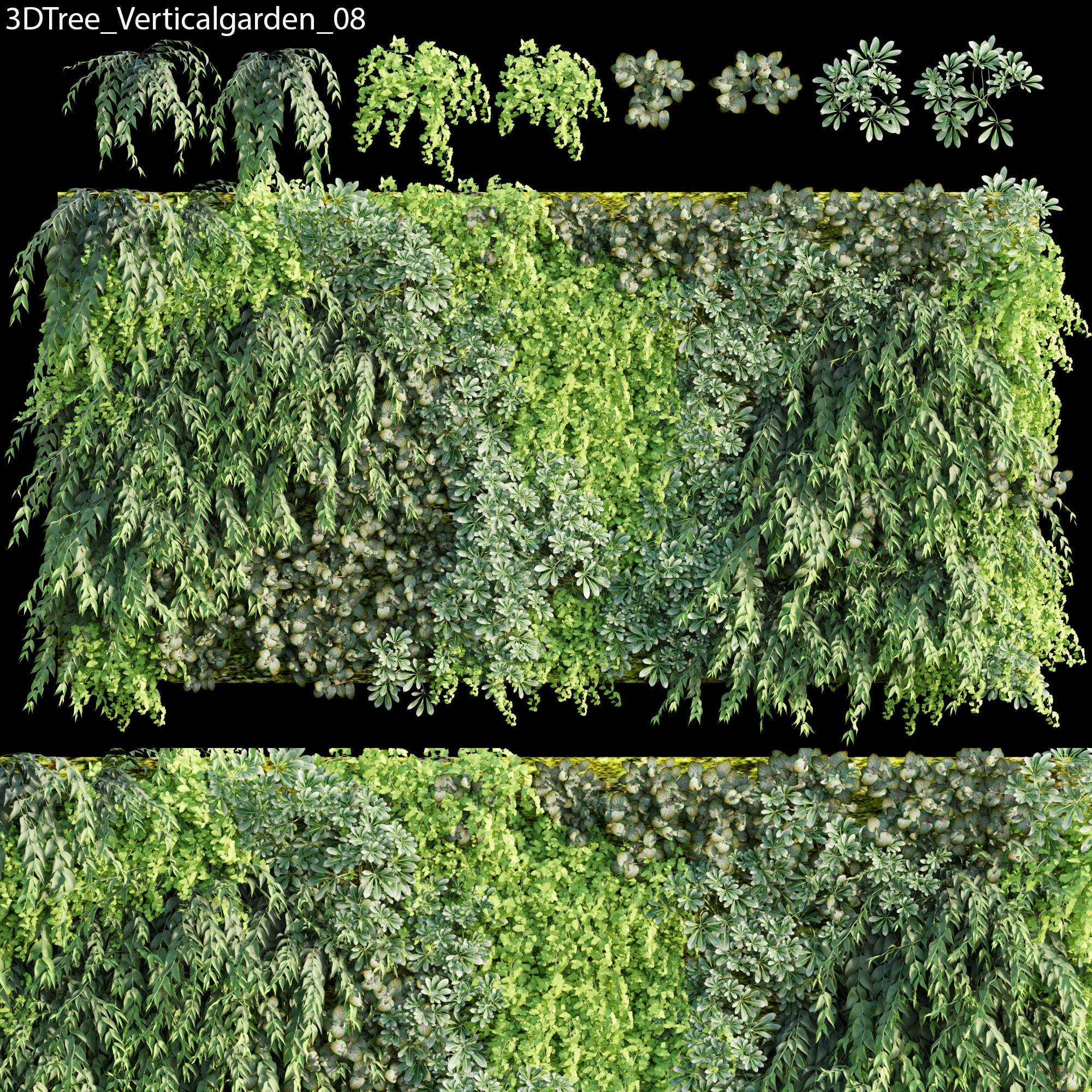 Verticalgarden - Green wall 08