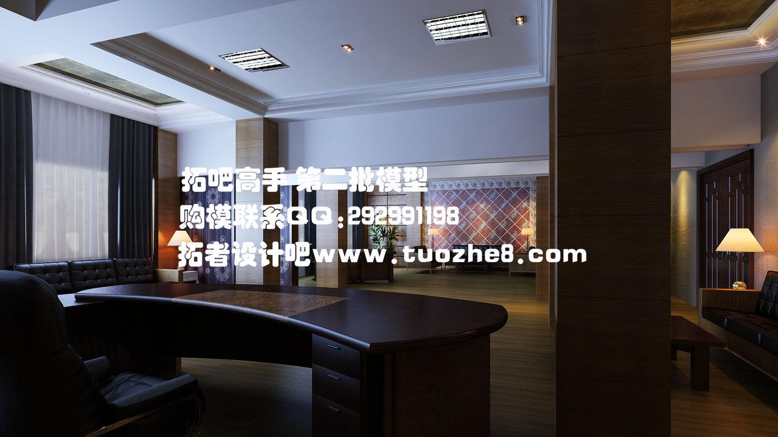 Exhibition Room D : Generous upscale shops exhibition design o d model