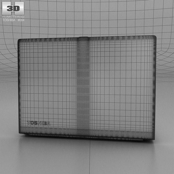 Toshiba portege z30 3d model max obj 3ds fbx c4d lwo for Porte 3ds max