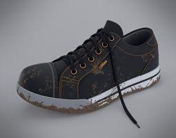dirty shoe 3d model