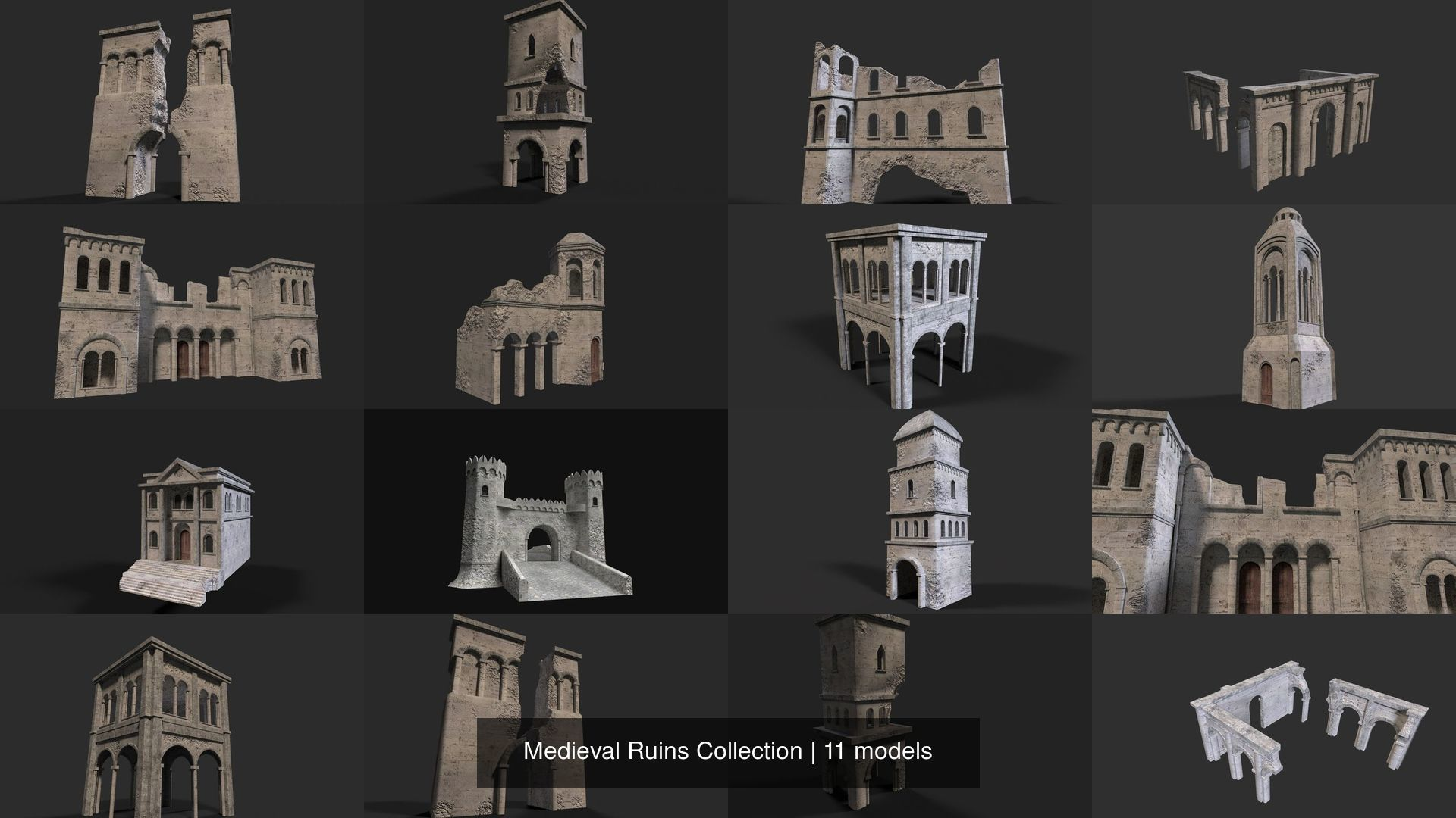 Medieval Ruins Collection