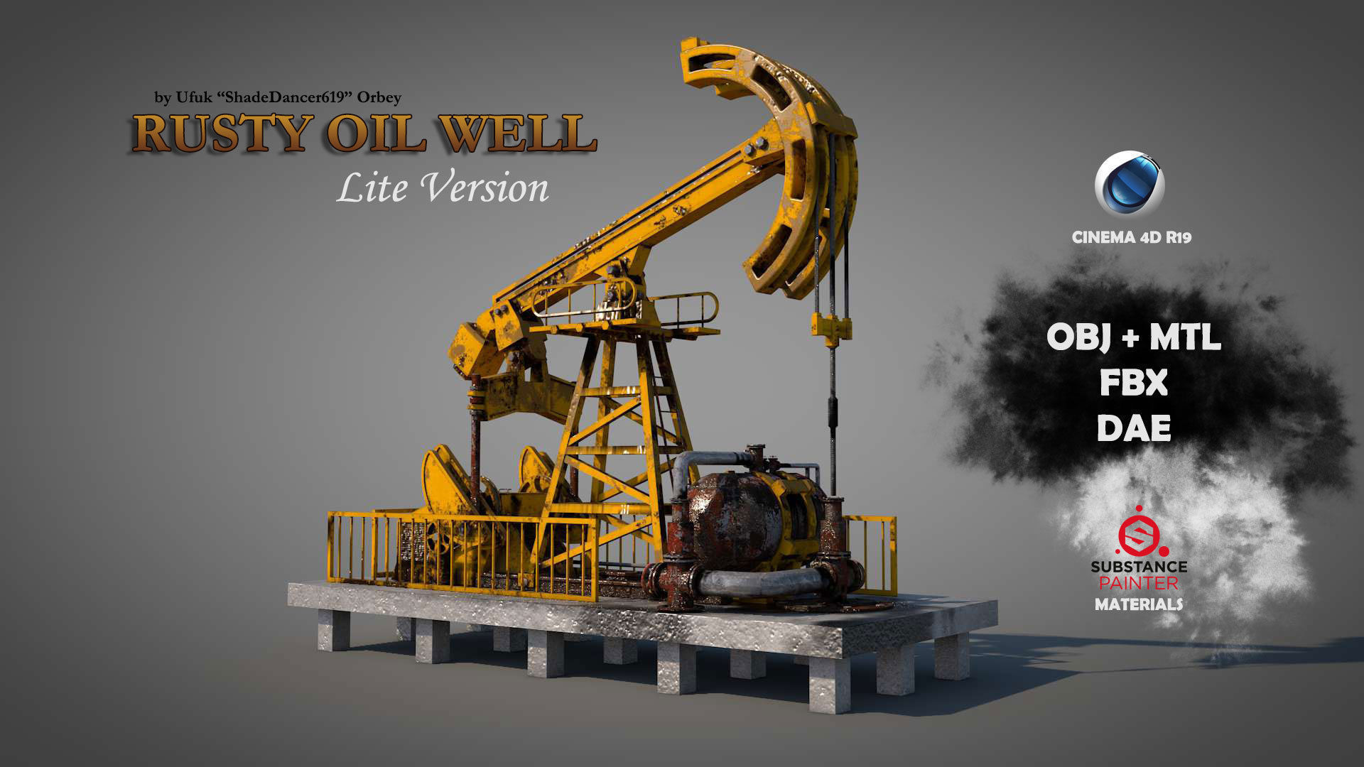 Rusty Oil Well LITE