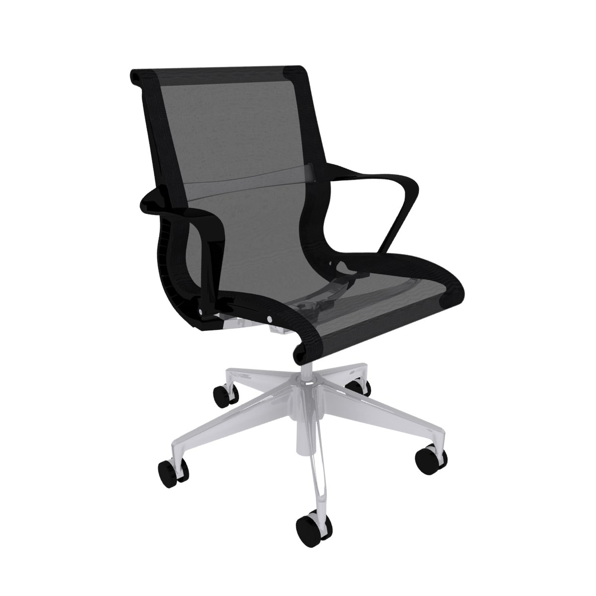 Herman Miller Setu Chair Max 2010 2011 3D Model Max Obj 3ds Fbx C4d Ma