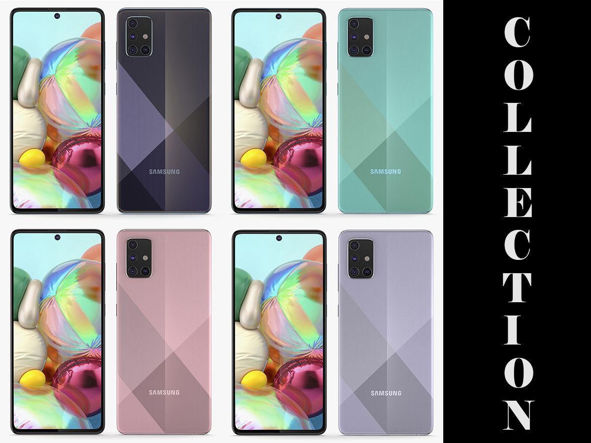 Samsung Galaxy A71 All Colors