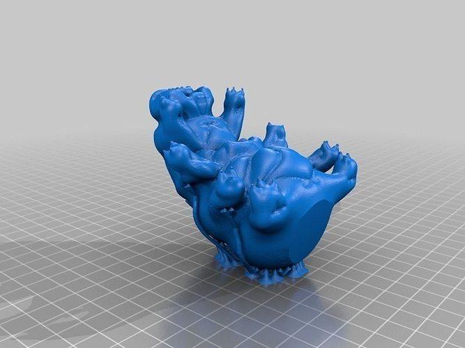Waterbear And The Tardigrade Free 3d Model 3d Printable