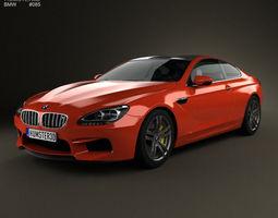 BMW M6 Coupe 2012 3D Model
