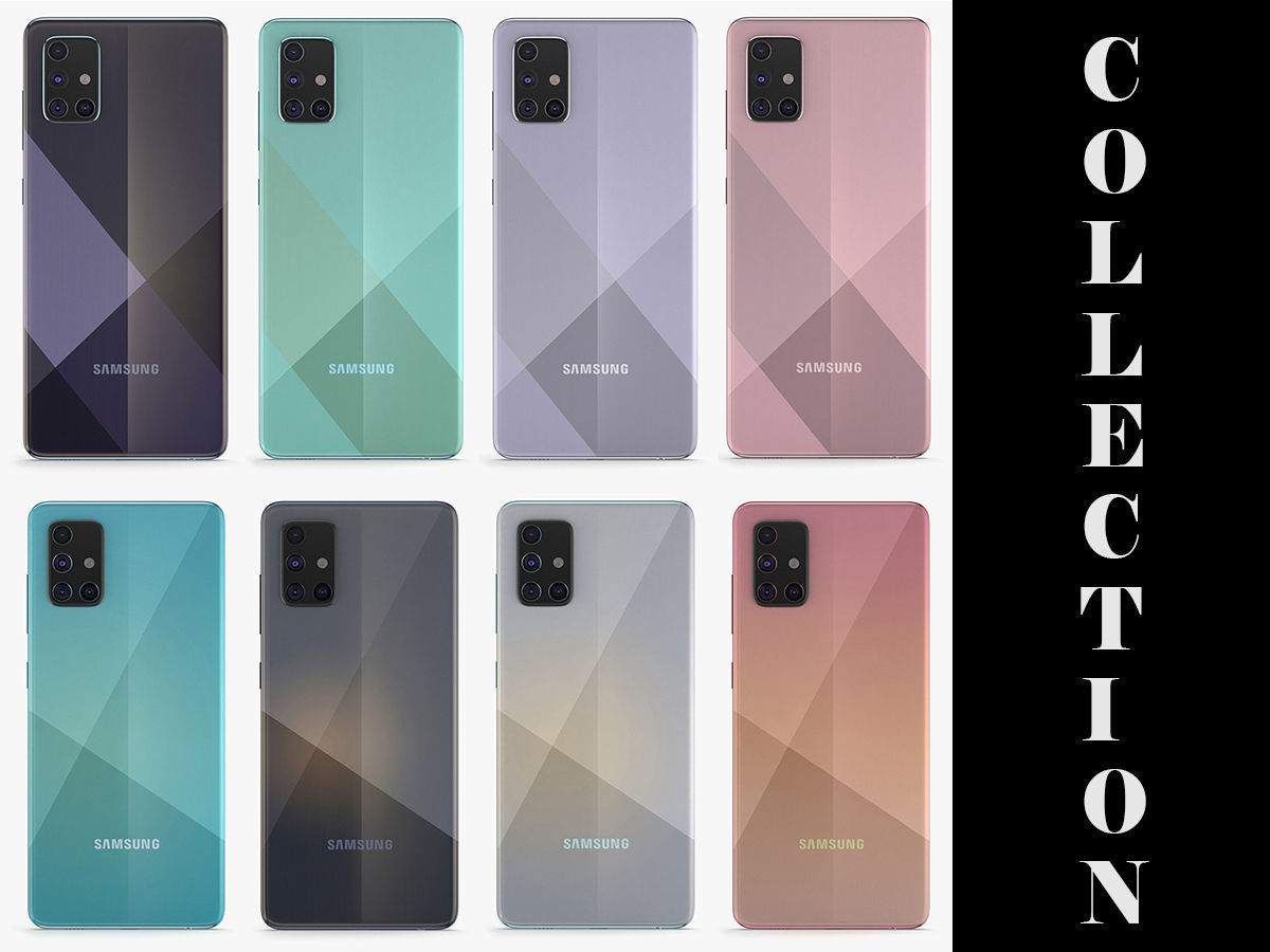 Samsung Galaxy A51 and A71 All Colors