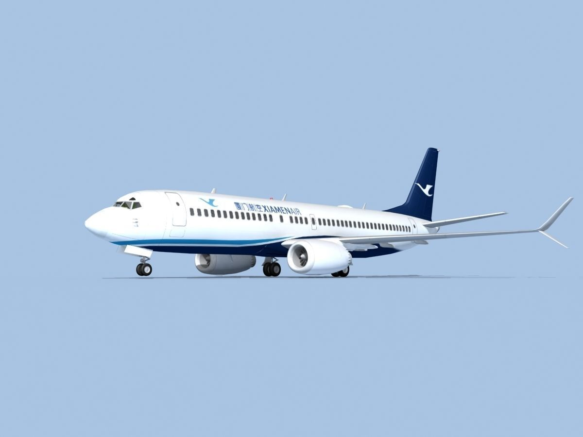 Boeing 737-800 Max Xiamen Airlines