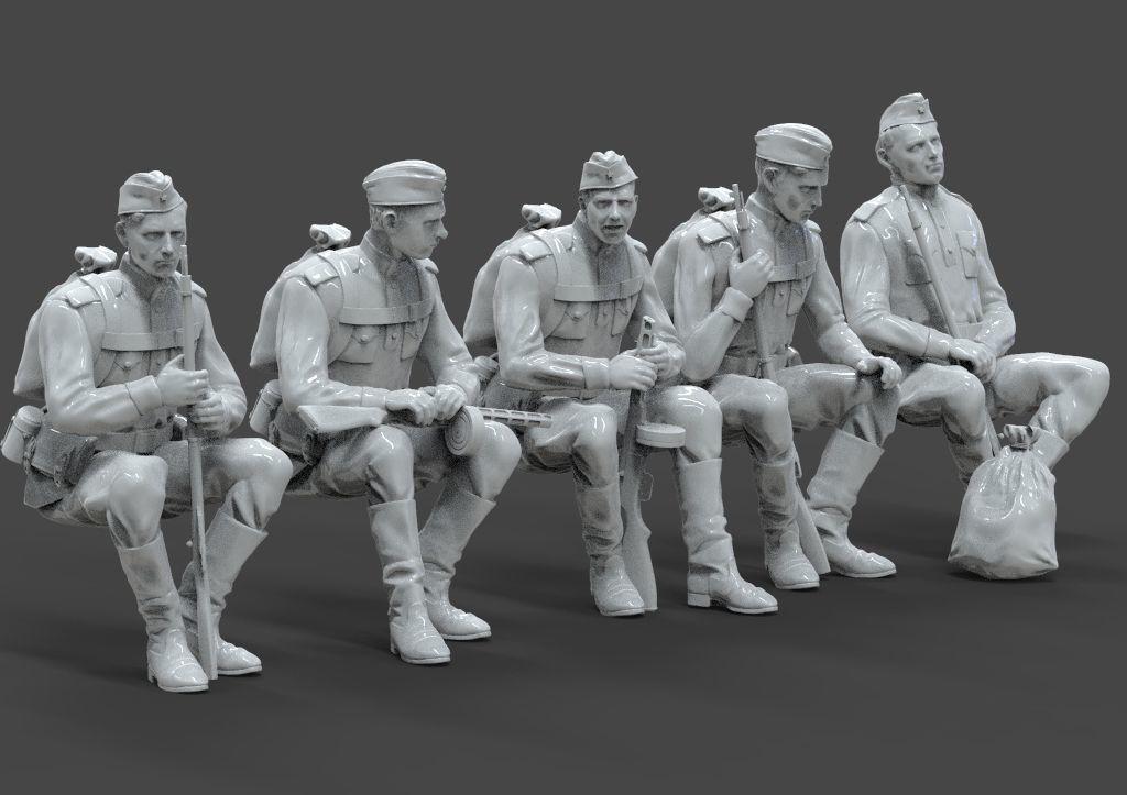 soldiers ussr ww2
