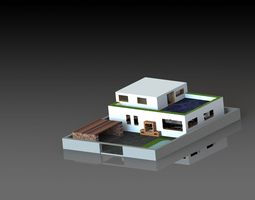 3D Ultimate Vacation Home