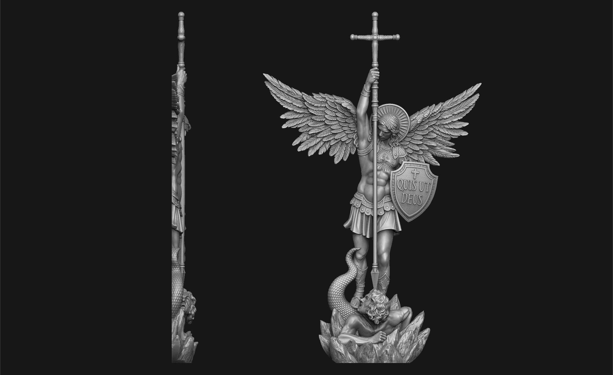 Archangel Michael Bas-Relief