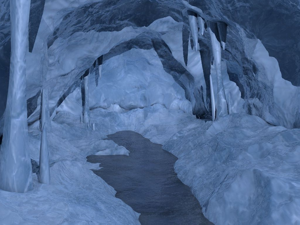 3D asset Ice cave   CGTrader