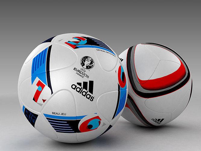 Conjunto de modelo de 3D Conjunto de oficial Adidas Beau 3D Jeu y bolas de calificación 3D 62c4b0c - generiskmedicin.website