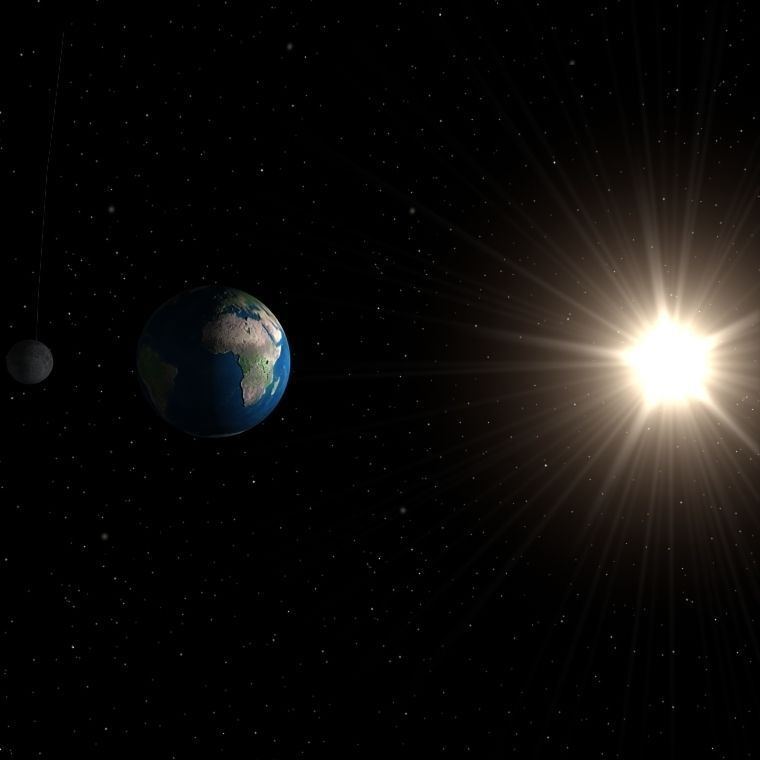 sun and planets 3d - photo #23