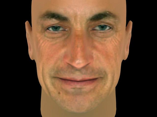 Nicolas Sarkozy3D model