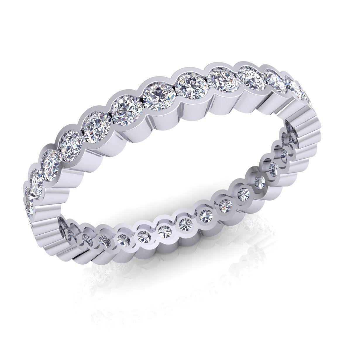 3D printable model Aarna Full Eternity Ring 10 | CGTrader