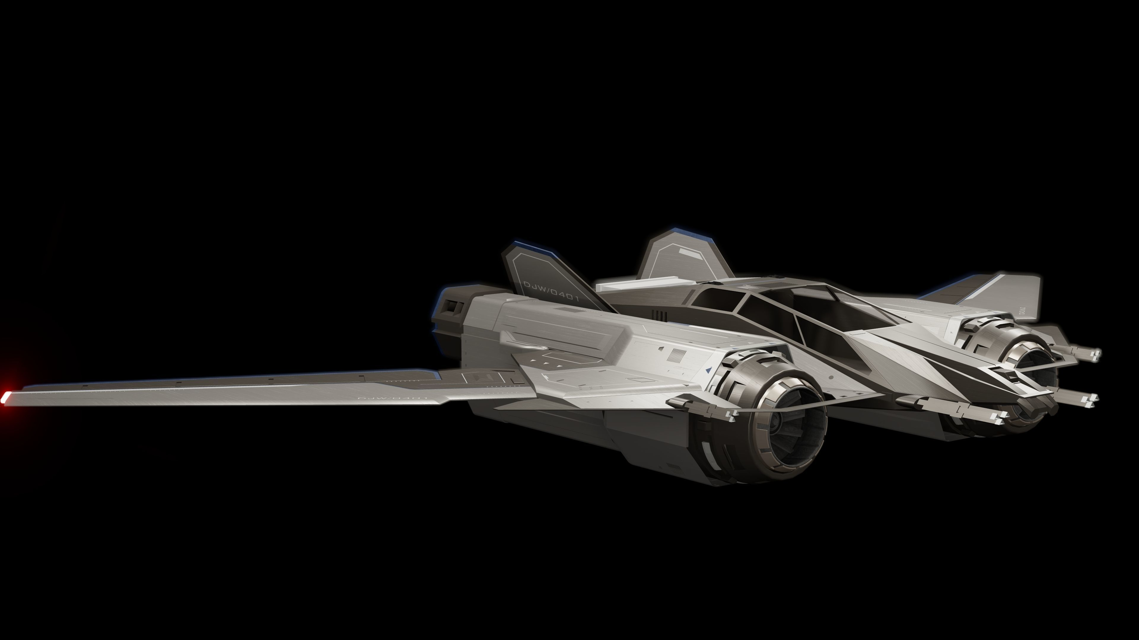 Detailed Space Ship