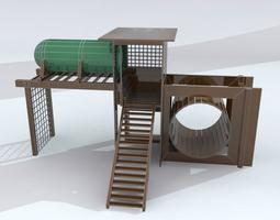 3d model playgroundset 1 max 2011