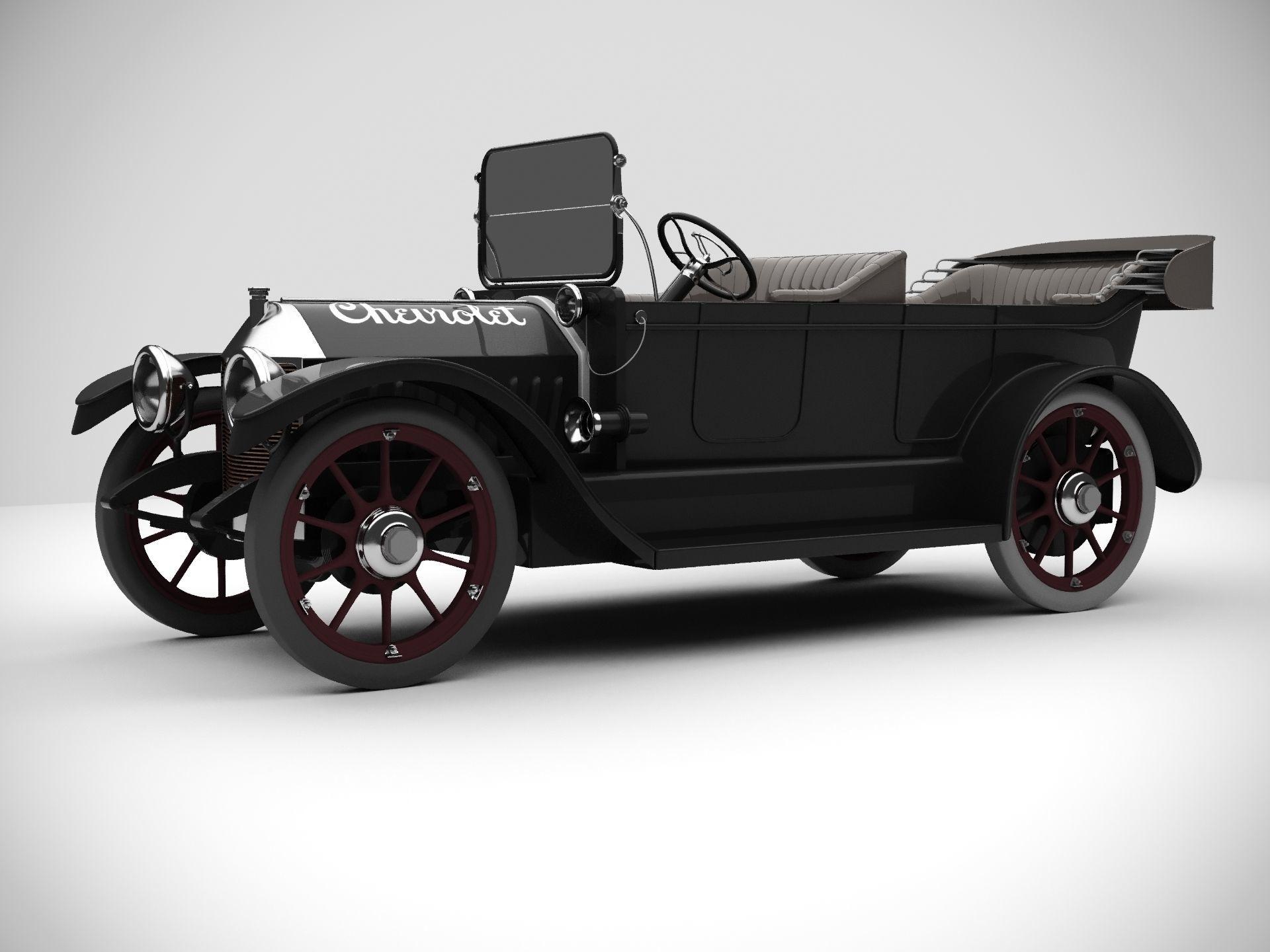 Vintage Antique Car-2